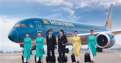 Vé Vietnam Airlines Hà Nội đi TP Hồ Chí Minh