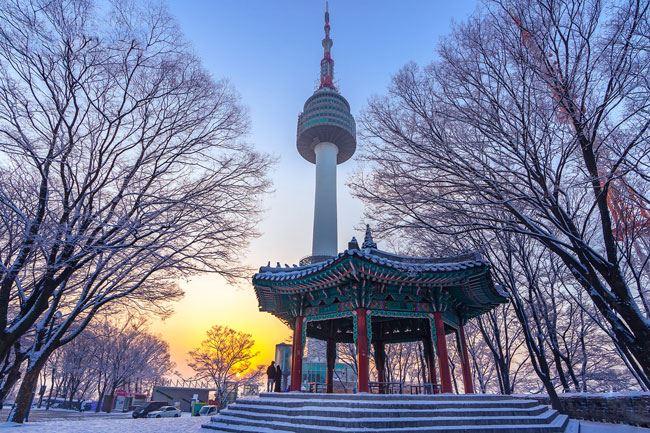 Du Lịch Hàn Quốc tết  - Seoul - Lotte World - Trượt tuyết Yangjipine - 6 ngày 5 đêm