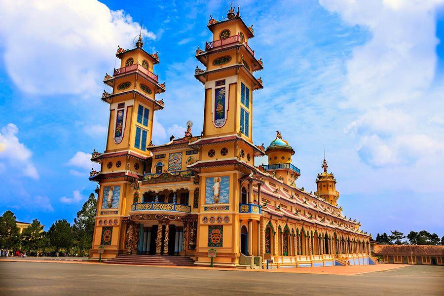 Du Lịch Sài Gòn - Tây Ninh - Mỹ Tho 4 Ngày 3 Đêm
